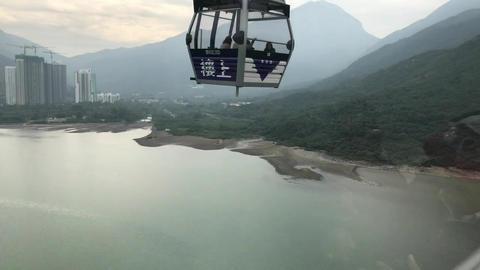 Hong Kong, China, A view of a mountain Acción en vivo