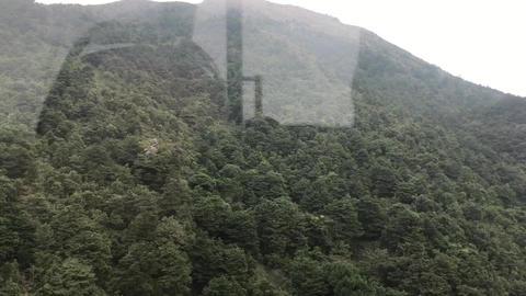 Hong Kong, China, A sign on the side of a mountain Acción en vivo