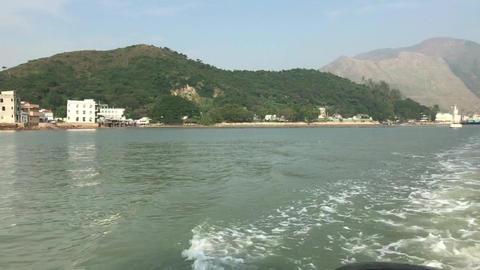Hong Kong, China, A large body of water Acción en vivo