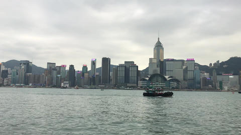 Hong Kong, China, A body of water with a city in the background Acción en vivo
