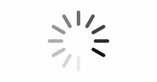 Simple animated loading icon isolated Animation