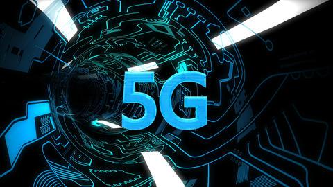 5G connectivity background animation Animation