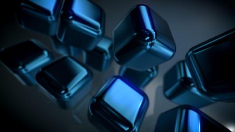 Blue Cubes CG動画