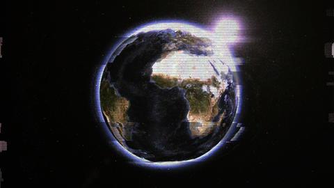 Night Planet Animation
