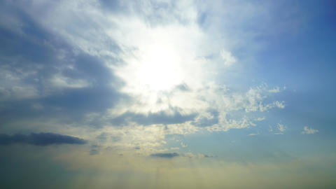 Cloudscape Timelapse - Crepsicul Rays God Rays Angel's readr Sun Beam Live Action