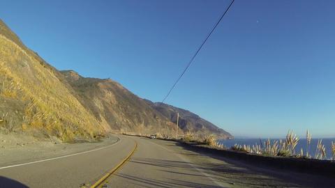 Big Sur Coast View Filmmaterial