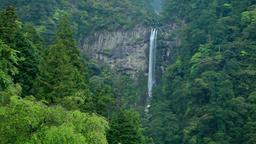 Nachi Falls, Wakayama Prefecture, Japan Footage