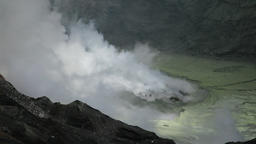 Mount Aso crater, Kumamoto Prefecture, Japan Footage