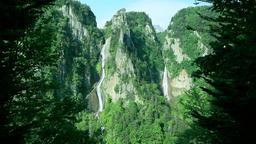 Ginga Waterfall, Hokkaido, Japan Footage