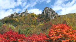 Mount Daisetsu, Hokkaido, Japan Footage