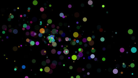 Wonderful video animation with bubbles in motion, loop HD Animation