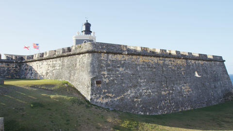 Puerto Rico tourist destination Landmark El Morro, Castillo San Felipe Del Morro Live Action
