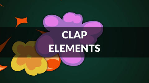 Clap Elements After Effects Template