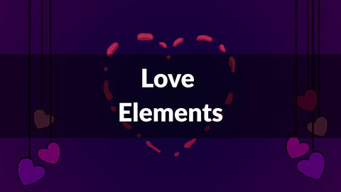 Love Elements After Effects Template