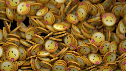 Savoring Food Emoji Transition Animation