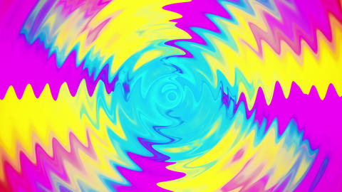 Vibrant Colorful Animated Ripples Animation