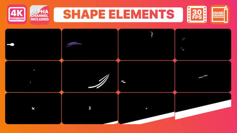 Dynamic Shapes Premiere Pro Template
