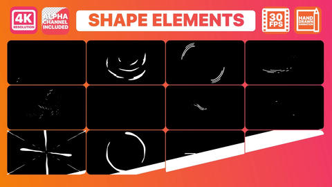 Shape Elements Plantillas de Premiere Pro