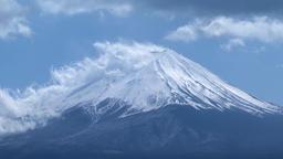 View of Mount Fuji, Japan Footage