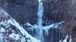 Kegon Falls, Tochigi Prefecture, Japan Footage