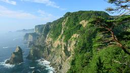 Sanriku Coast, Iwate Prefecture, Japan Footage