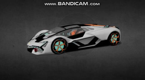 Lamborgini terzo millenio 3D Model