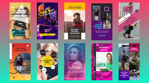 Instagram Stories 7. 0 After Effects Template