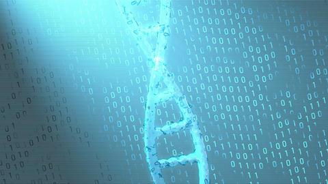 Genetic algorithm technology concept animation Animation