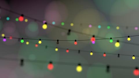 Twinkle decoration lights, celebration animation Animation
