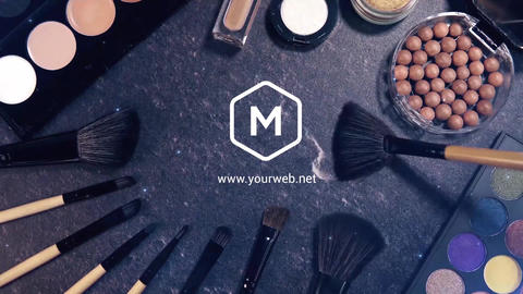 Short Make-Up Promo After Effects Template