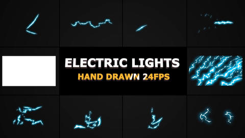 Flash FX Lightning Elements Premiere Pro Template
