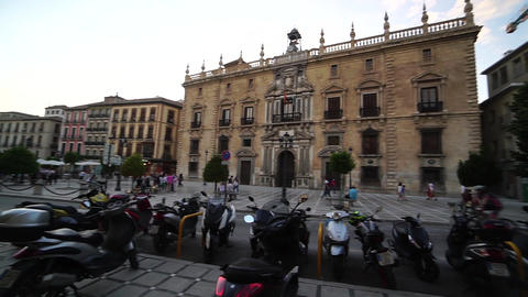 May 24, 2020: Granada, Spain.People in medical masks after quarantine, Spain ライブ動画
