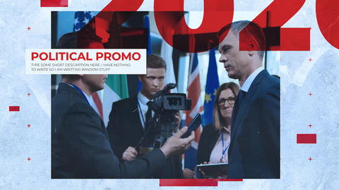 Political Promo Plantilla de After Effects