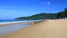 Karon Beach, Phuket, Thailand Footage