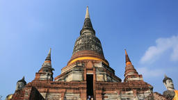 Ayutthaya Temple, Thailand Footage