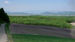 Hokkaido countryside, Japan Footage