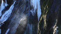 Funbe Waterfall, Hokkaido, Japan Footage