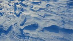 Snow at Bihoro Ridge, Hokkaido, Japan Footage