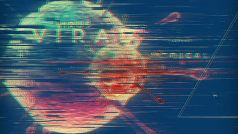 Viral Glitch Logo After Effects Template