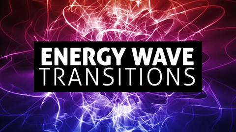 Waving Energy Transitions Ajuste preestablecido de Premiere Pro Effect