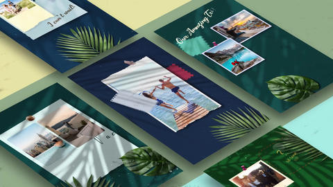 Vacation Stories After Effects Template