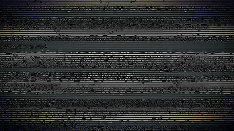 Bad Tv Signal Noise Flickering Screen Lines Background Motion Animation