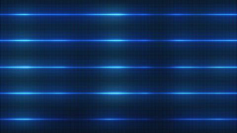 Futuristic Blue Energy Animation