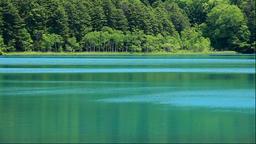 View of Lake Onneto in Hokkaido, Japan Footage