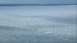 Drifting ice, Hokkaido, Japan Footage
