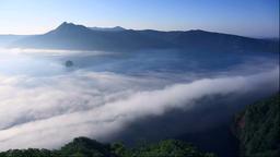 Fog over Lake Mashu, Hokkaido Footage