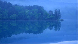 Morning at Lake Onneto in Hokkaido Footage