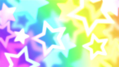 Star motion pattern background with fashionable neon colors 애니메이션