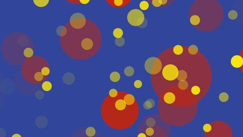 パーティクル カラー ループ GIF