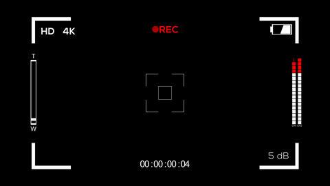 Video Recording Screen Animation
